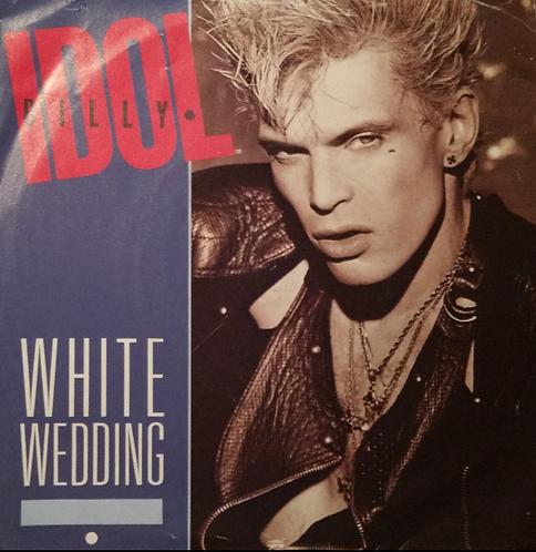 BILLY IDOL WHITE WEDDING