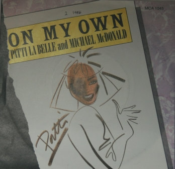 PATTI LA BELLE AND MICHAEL McDONALD ON MY OWN
