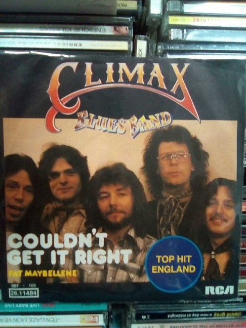 CLIMAX BLUES BAND COULDN'T GET IT RIGHT