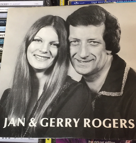 JAN & GERRY ROGERS DON'T CRY FOR ME ARGENTINA