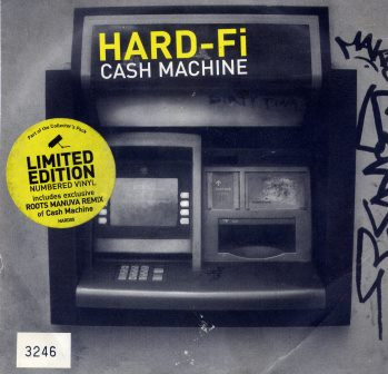 HARD-FI CASH MACHINE (YELLOW VINYL LTD ED.)