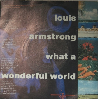 LOUIS ARMSTRONG WHAT A WONDERFULL WORLD