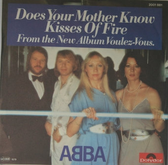 ABBA DOES YOUR MOTHER KNOW GERMAN IMPORT