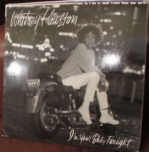 WHITNEY HOUSTON I'M YOUR BABY TONIGHT LP NEAR MINT