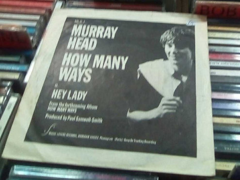 """MURRAY HEAD HOW MANY WAYS PICTURE COVER 7"""""""