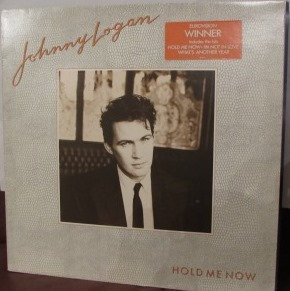 JOHNNY LOGAN HOLD ME NOW     LP