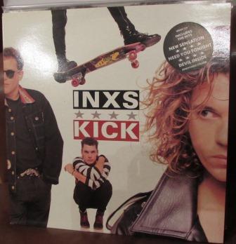 INXS KICK LP NEAR MINT