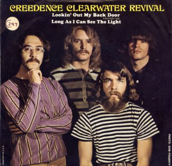 CREEDENCE CLEARWATER LOOKIN OUT MY BACK  IMPORT
