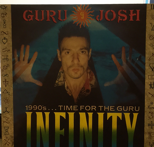 "GURU JOSH 1990 TIME FOR THE GURU 7"""