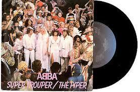 ABBA SUPERTROOPER DUTCH ISSUE