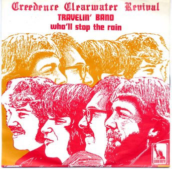 CREEDENCE CLEARWATER TRAVELIN BAND BELGUIM IMPORT
