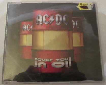 ACDC COVER YOU IN OIL CD SINGLE