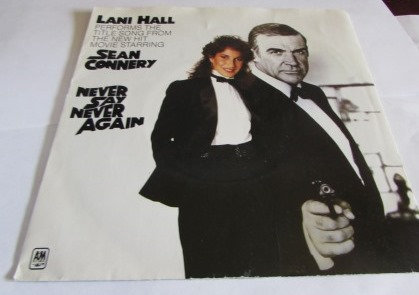LANI HALL NEVER SAY NEVER JAMES BOND SOUNDTRACK