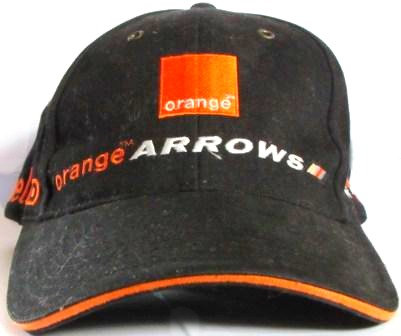 DE LA ROSA ORANGE ARROWS  F1 CAP