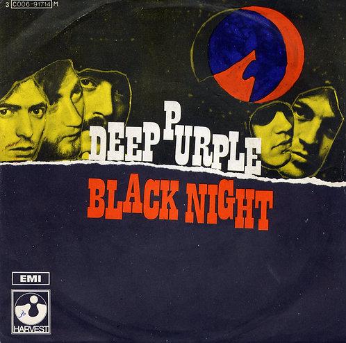 DEEP OURPLE BLACK NIGHT ITALIAN IMPORT