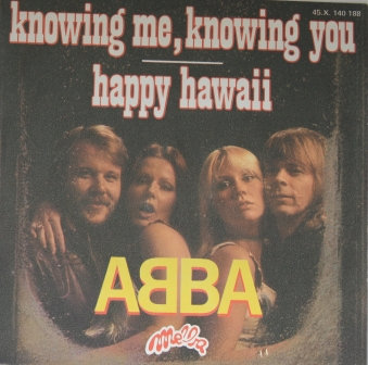 ABBA KNOWING ME KNOWING YOU FRENCH IMPORT