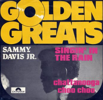 SAMMY DAVIS JR SING IN THE RAIN IMPORT ISSUE