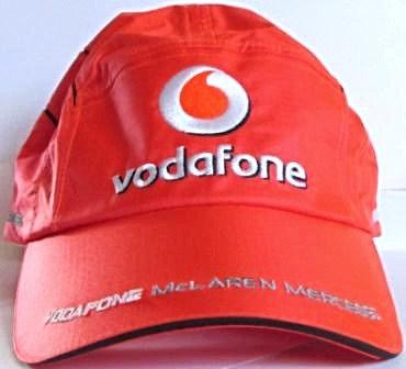 ALONSO VODAFONE CAP