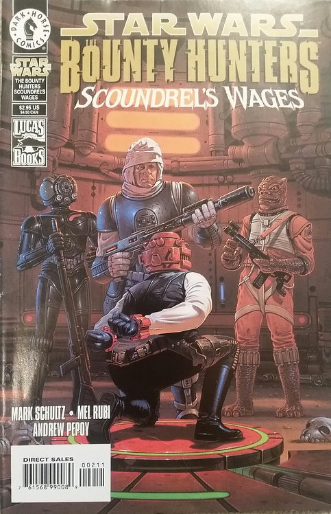 STAR WARS THE BOUNTY HUNTERS SCOUNDRELS WAGES