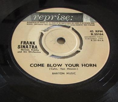 FRANK SINATRA COME BLOW YOUR HORN