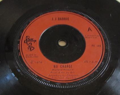 J.J.BARRIE NO CHARGE