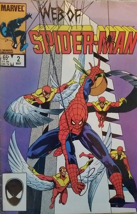 MARVEL WEB OF SPIDERMAN 2