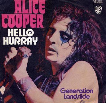 ALICE COOPER HELLO HURRAY GERMAN IMPORT