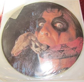ALICE COOPER CONSTRICTOR PICTURE DISC
