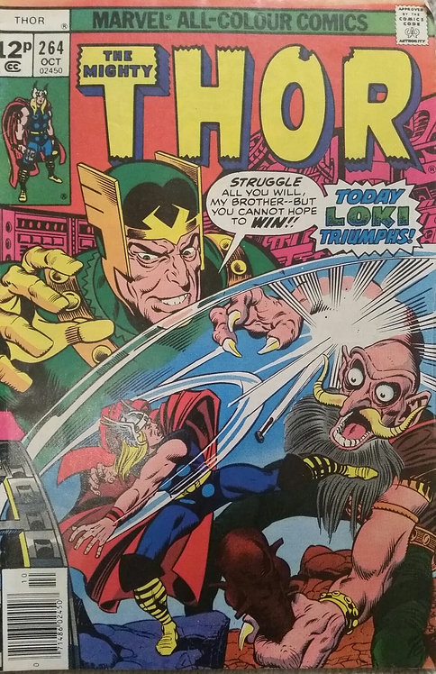 MARVEL THE MIGHTY THOR 264