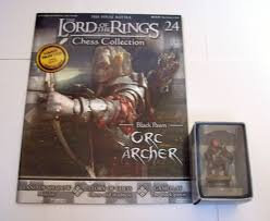 LORD OF THE RINGS CHESS PIECE ORC ARCHER 24