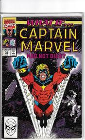 WHAT IF CAPTAIN MARVEL HAD NOT DIED? COMIC 14