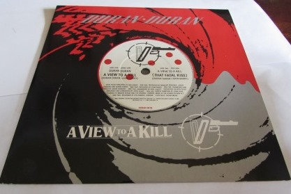 DURAN DURAN A VIEW TO A KILL JAMES BOND SOUNDTRACK