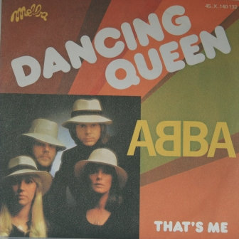ABBA DANCING QUEEN FRENCH IMPORT