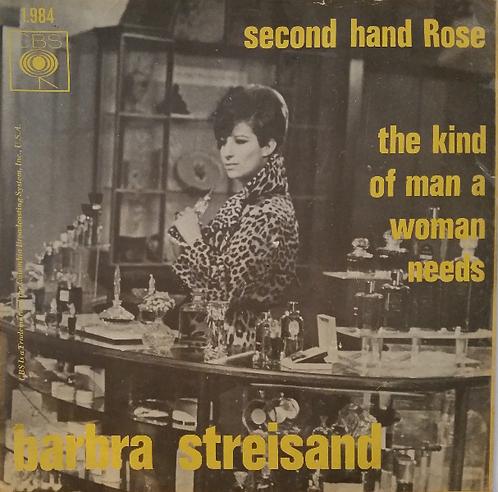 BARBRA STREISAND SECOND HAND ROSE