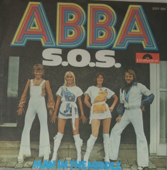 ABBA S.O.S GERMAN IMPORT