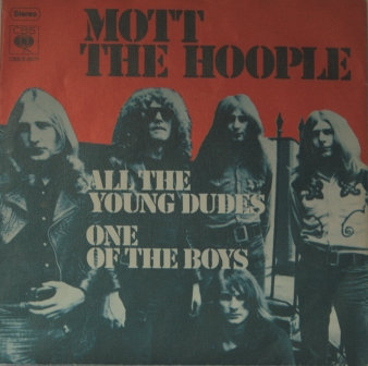 MOTT THE HOOPLE ALL THE YOUNG DUDES DUTCH ISSUE