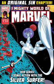 THE MIGHTY WORLD OF MARVEL COMIC 14 2015