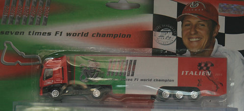 MICHAEL SCHUMACHER COLLECTION TRUCK ITALIEN