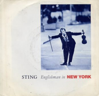 STING ENGLISHMAN IN NEW YORK USA ISSUE