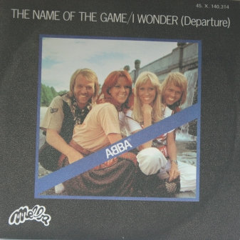 ABBA THE NAME OF THE GAME FRENCH ISSUE