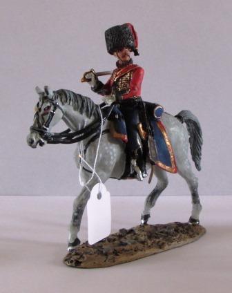 OFFICER KELLERMANN'S HUSSARS 1805