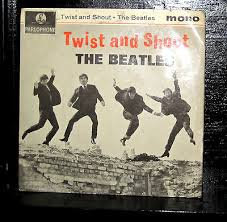THE BEATLES TWIST AND SHOUT EP