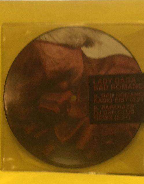 LADY GAGA BAD ROMANCE PICTURE DISC