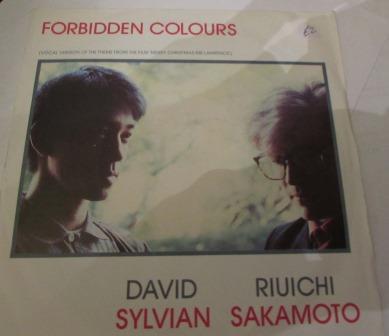 DAVID SYLVIAN RIUICHI SAKAMOTO FORBIDDEN COLOURS