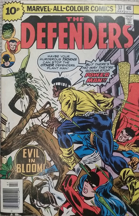 MARVEL THE DEFENDERS 37