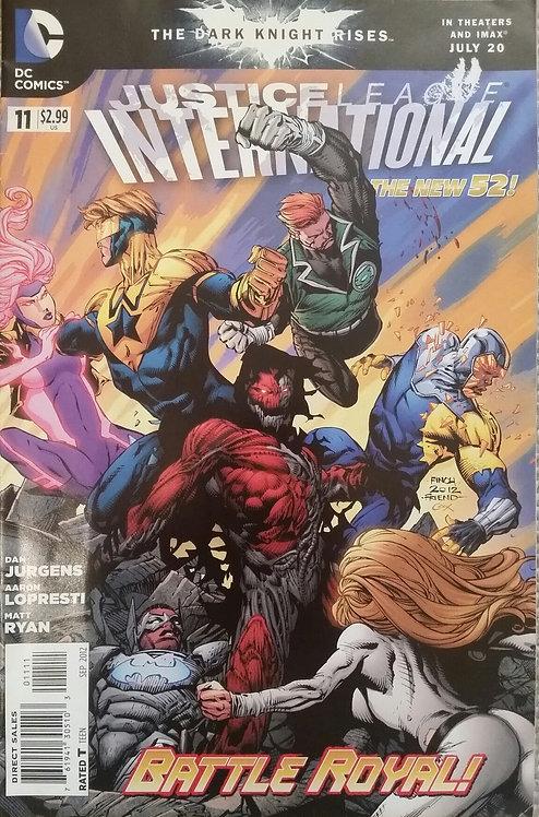 JUSTICE LEAGUE INTERNATIONAL 11