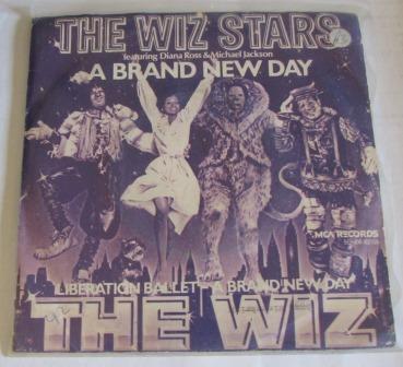THE WIZ STARS A BRAND NEW DAY  DUTCH IMPORT
