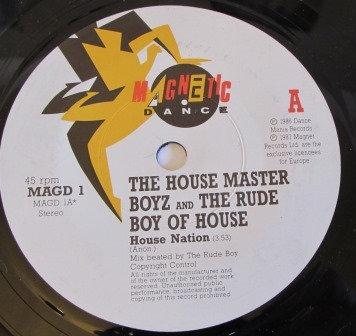 THE HOUSE MASTER BOYZ HOUSE NATION