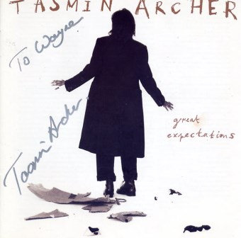 TASMIN ARCHER GREAT EXPECTATIONS AUTOGRAPHED CD
