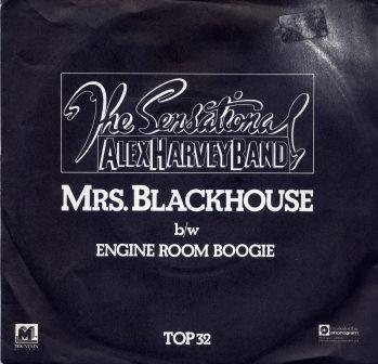 THE SENSATIONAL ALEX HARVEY BAND MRS BLACKHOUSE